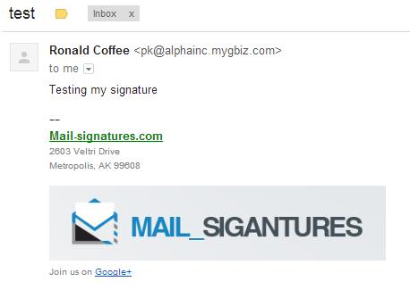 E-Mail-Signatur