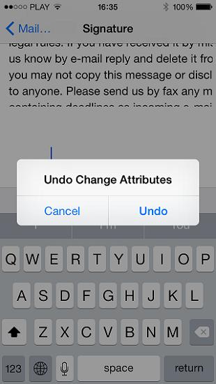 Undo-change-attributes