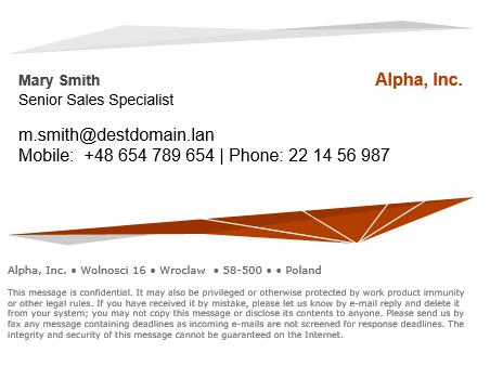10 Beispiele Für Eine Professionelle Email Signatur Mail