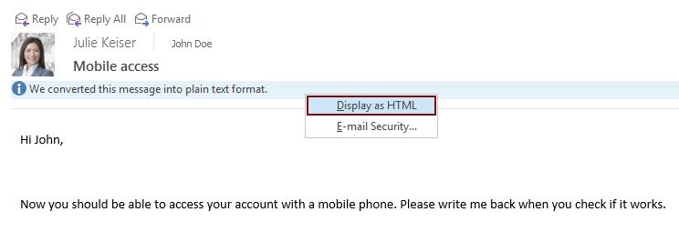 Als HTML anzeigen