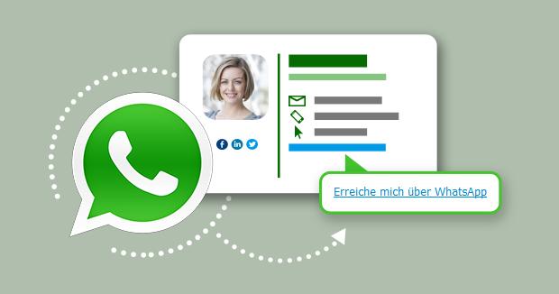 So fügen Sie WhatsApp-Link in Ihre E-Mail-Signatur ein