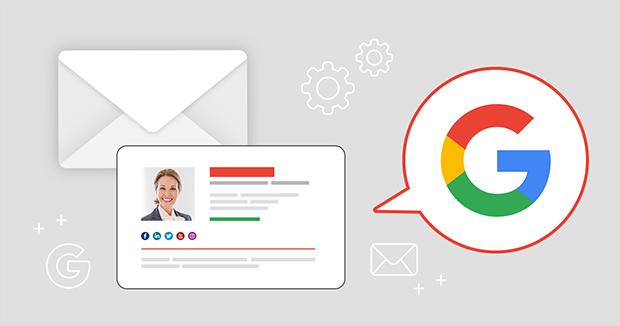 Email-Signatur für Gmail/Google Apps erstellen