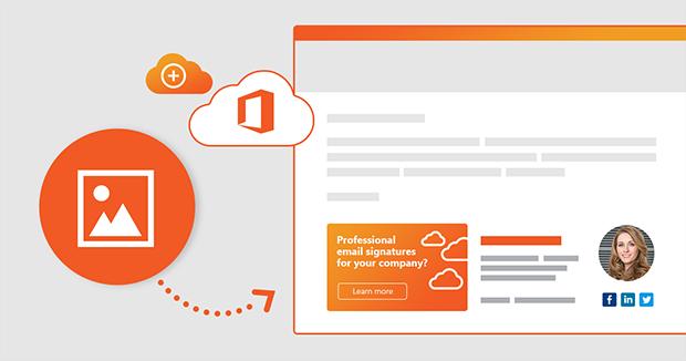 E-Mail-Signatur mit Bild unter Office 365