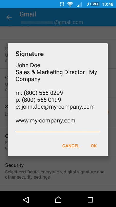 Android-Signatur erstellen.