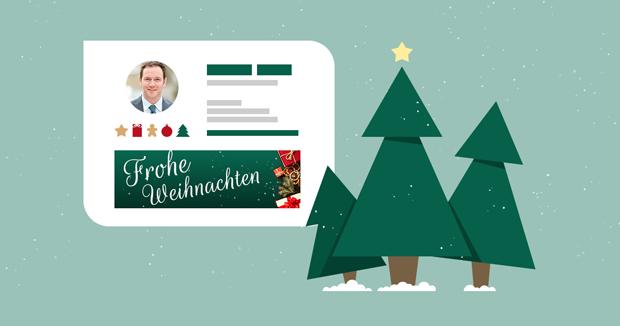 Neue E-Mail-Signaturen: Weihnachtsedition
