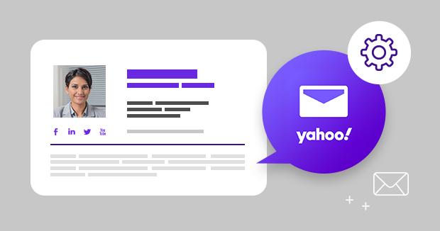 So erstellen Sie eine E-Mail-Signatur in Yahoo Mail