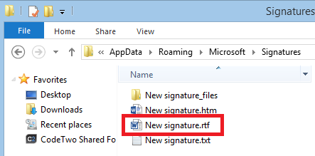 "My ""New signature"" RTF file"