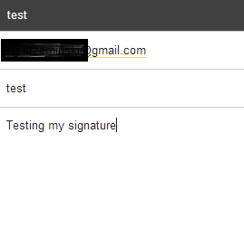 how to add page footer the gmail email