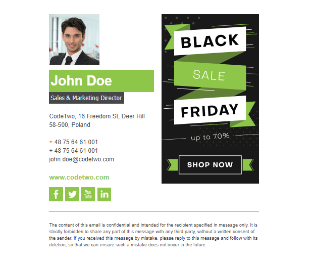 Black Friday – template 5