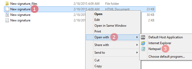 how to create a new email signature in outlook 2007