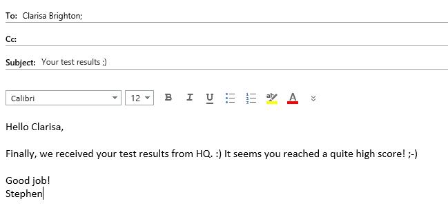 Test-mail