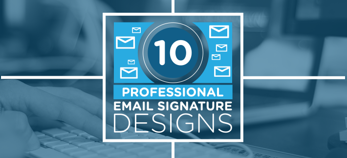 10 professional email signature design inspirations
