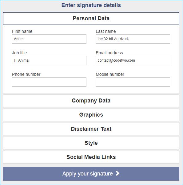 how to set up email signature in Outlook for iOS - generator