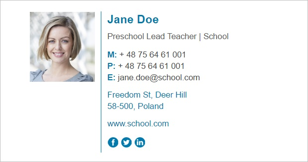 email signature for teachers tips on how to design a