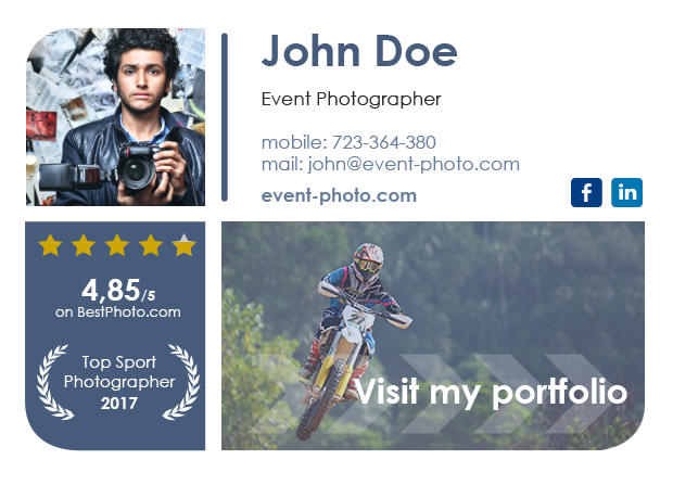 Event-Photographer email signature