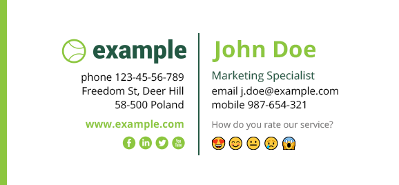 How to add emoji in email signatures (and why you shouldn't)