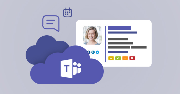Microsoft Teams deep links in email signatures