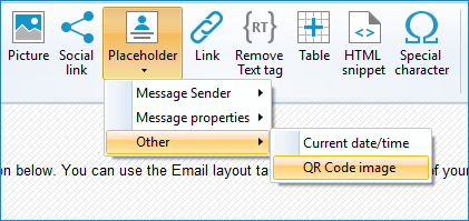 QR code in CodeTwo Email Signatures for Office 365