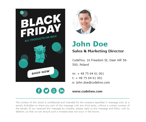 Black Friday – template 4