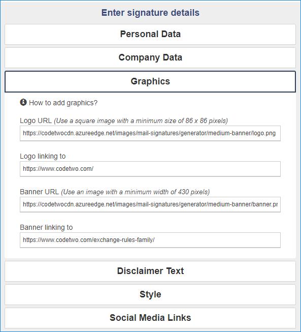 Email signature tool for graphic designers 02