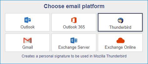 Email signature tool for graphic designers 04