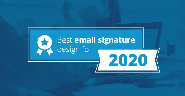 The best email signatures for 2020