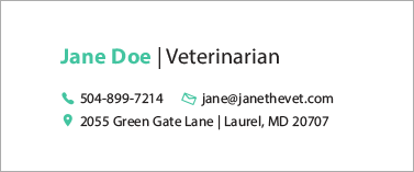 Best email signatures for 2020 for replies - JaneTheVet