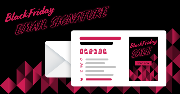 Free email signature templates to use for Black Friday sale in 2020