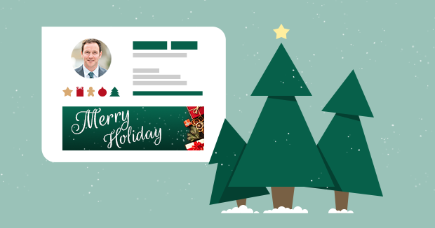 New email signatures for a happy winter holiday