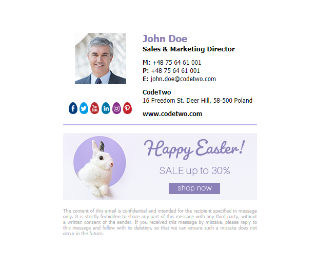 Free spring signature template – Egg hunting