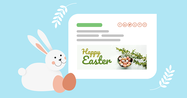 Celebrate Easter and spring with free email signature templates