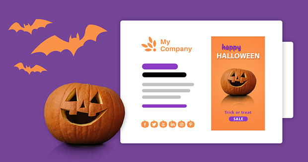 Free email signature templates to boost Halloween sales in 2021